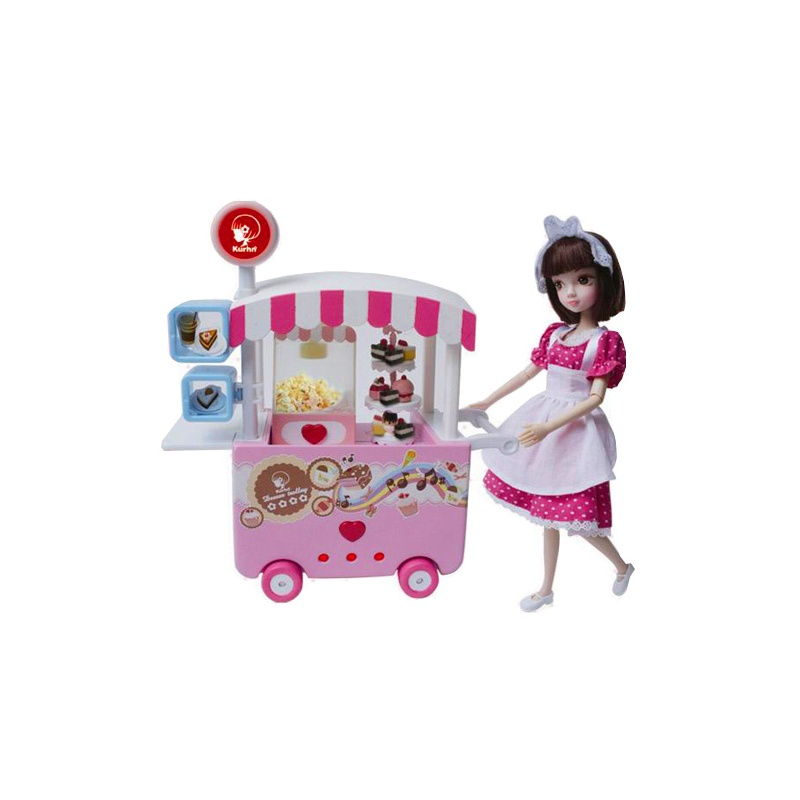 【kurhn/可儿人偶娃娃】可儿娃娃甜品车关节体3035爆
