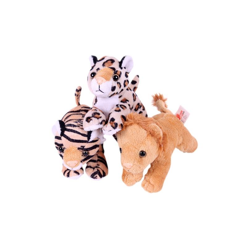 大贸商 毛绒玩具 狮子老虎豹 儿童玩偶 公仔 动物 ct10254