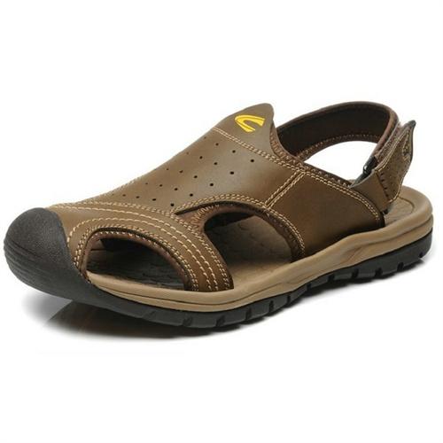 骆驼动感Camel Active 新款夏季凉鞋 时尚真皮软底男鞋C63606173