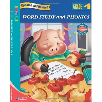 word study and phonics, grade 4 (spectrum) [isbn