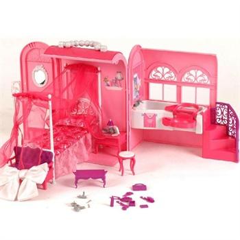 芭比夢幻甜甜屋r3958芭比娃娃房子