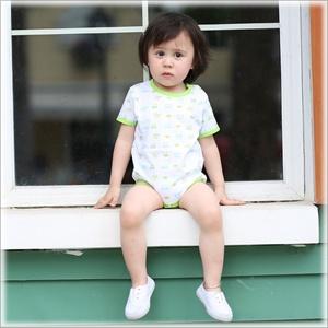 爱爱我(kidslove)男宝汽车包屁爬服婴儿连体衣儿童三角哈衣59/66/73/80cm尺码可选【货到付款】