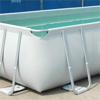 intex长方形支架水池 家庭泳池支架水池别墅游泳池