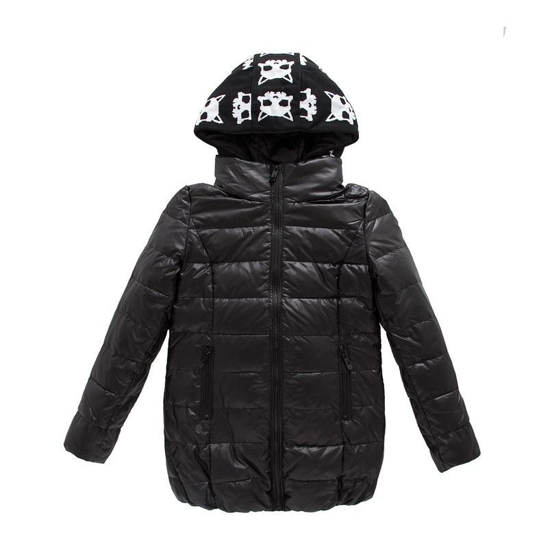 森马2013冬装新款 女装羽绒服 中长款连帽修身款羽绒服 专柜款女原价图片