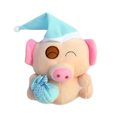 麦兜猪开心玩偶