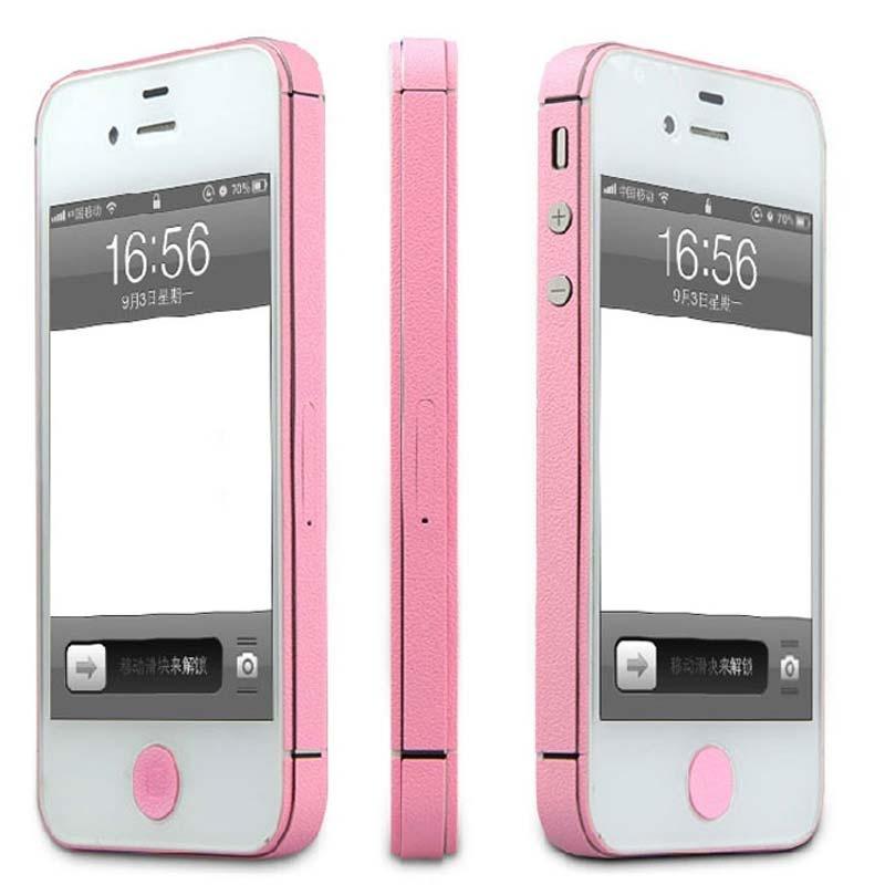 捷米iphone4边框贴膜贴纸