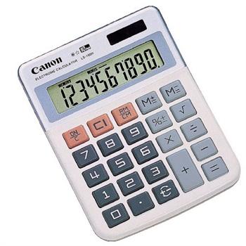 佳能(CANON)迷你台式计算器LS-100H