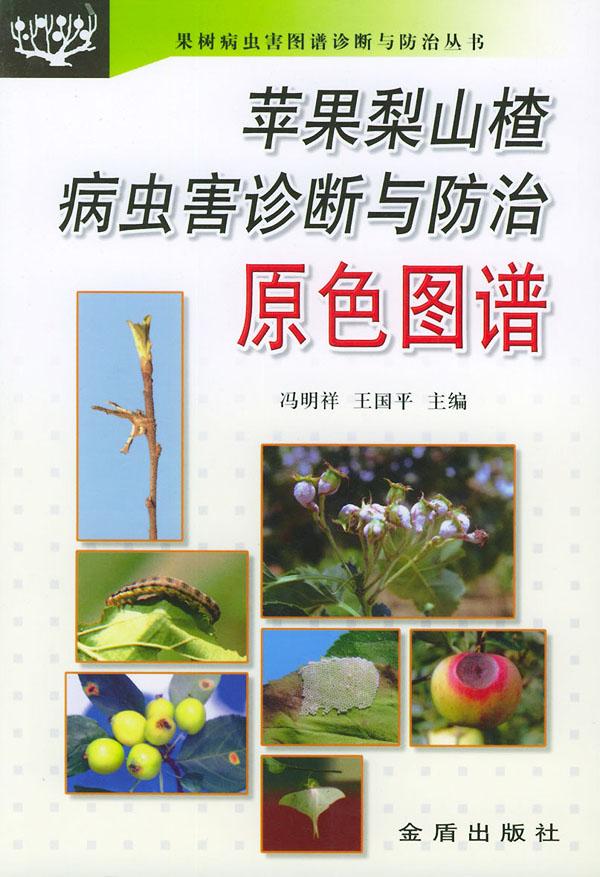 苹果梨山楂病虫害诊断与防治原色图谱——果树病虫害图谱诊断与防治丛