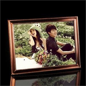 弗莱文茨新款韩式金属相框12寸婚纱照相框油画框A式纸相框