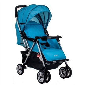 Goodbaby 好孩子 超轻便换向可折叠婴儿推车 C258W-K478  529元(下单减200 即329元)