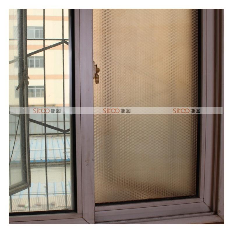 斯图 加厚 加宽 玻璃贴膜不透明磨砂浴室窗户贴纸窗户贴膜玻璃贴纸 防