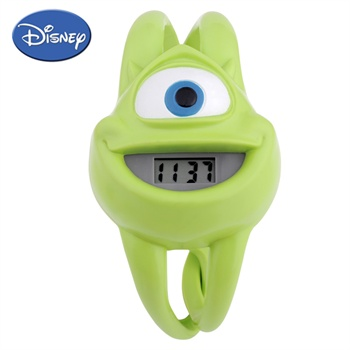 迪士尼怪兽大学大眼仔儿童手表 挂件公仔玩具米奇儿童表男孩女孩33500