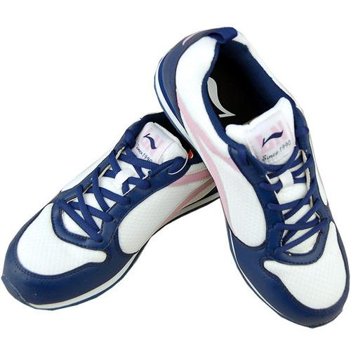 李宁慢跑鞋推荐_李宁女子慢跑鞋-38白-rwa772-1