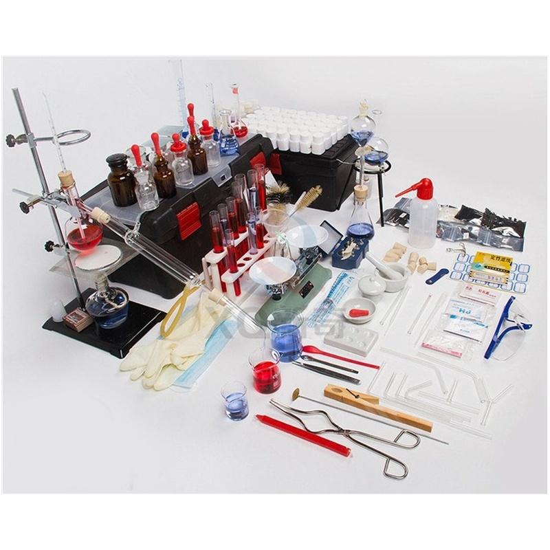 初中,高中化学实验探究器材 家庭化学实验箱 买一赠六 促销, 配置了近