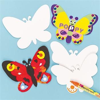 儿童蝴蝶颜色搭配图