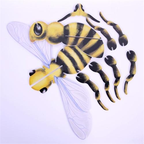手工制作立体蜜蜂