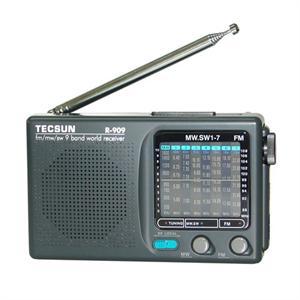 超薄型9波段收音机 r-909选用进口优秀的收音机集成电路