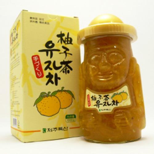 济州岛多尔哈鲁邦守护神柚子茶1000g图片