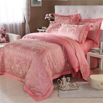 水星家纺 床上用品 欧式大提花四件套 托斯卡娜 床上用品
