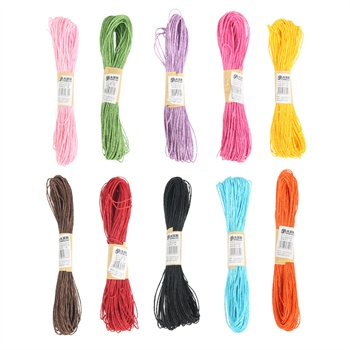 50米彩色纸绳粘贴画手工diy材料编织幼儿园美