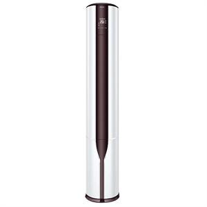 海尔 kfr-50lw07eac12(茉莉白) 2p分体柜机 帝尊定频圆柱冷暖空调