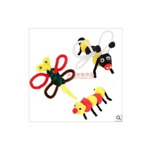儿童手工diy材料 彩色扭扭棒