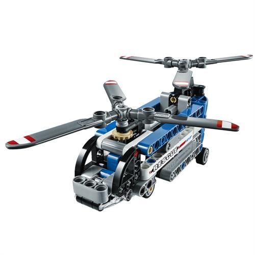 双翼螺旋桨直升机