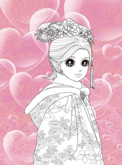 画古代公主图片可爱