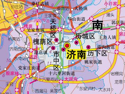 1:75万山东省地图
