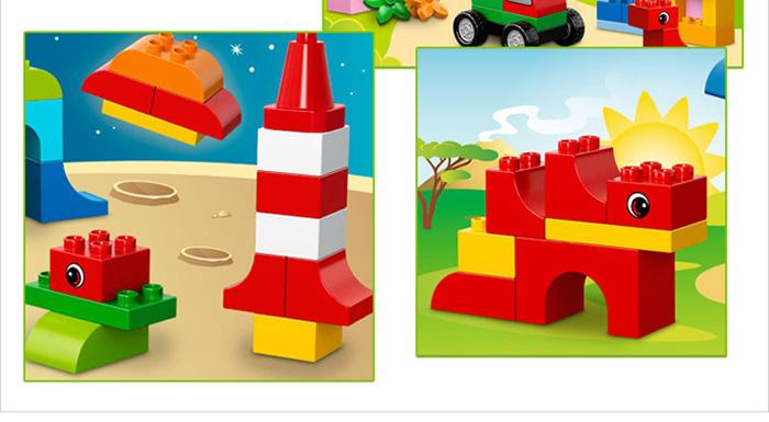 的创意积木套装为您的宝宝开启精彩的拼搭世界!