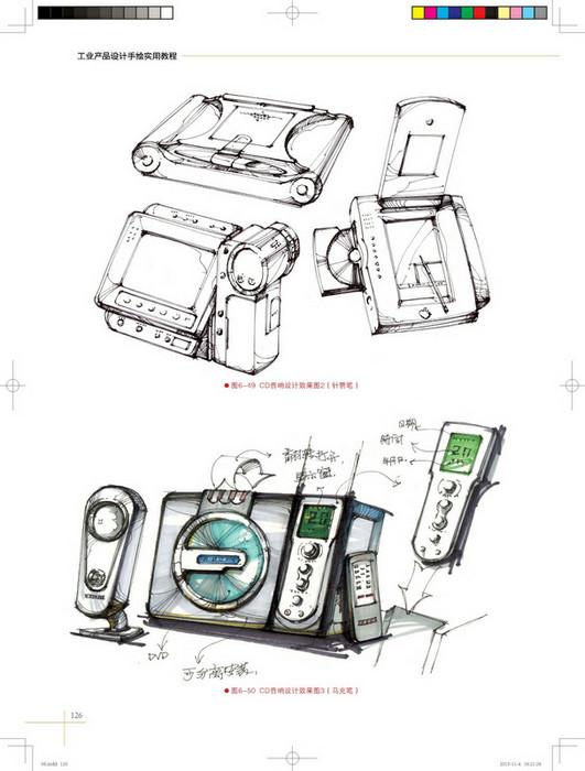工业产品设计手绘实用教程