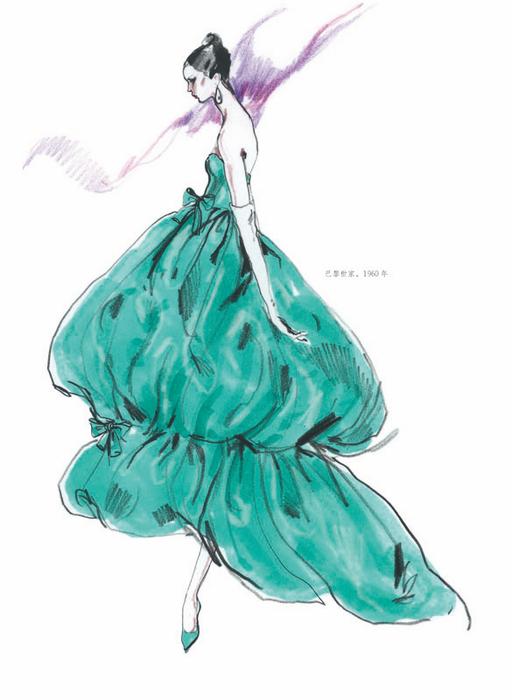 艺术 设计 服装设计 人民邮电出版社服装设计 【th】美国经典时装画