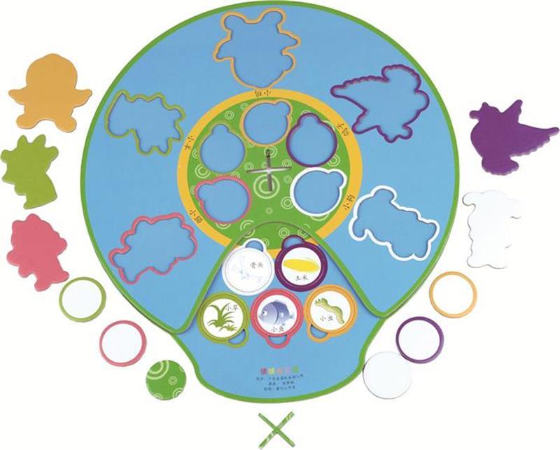 幼儿园小班拼插区环境创设图片