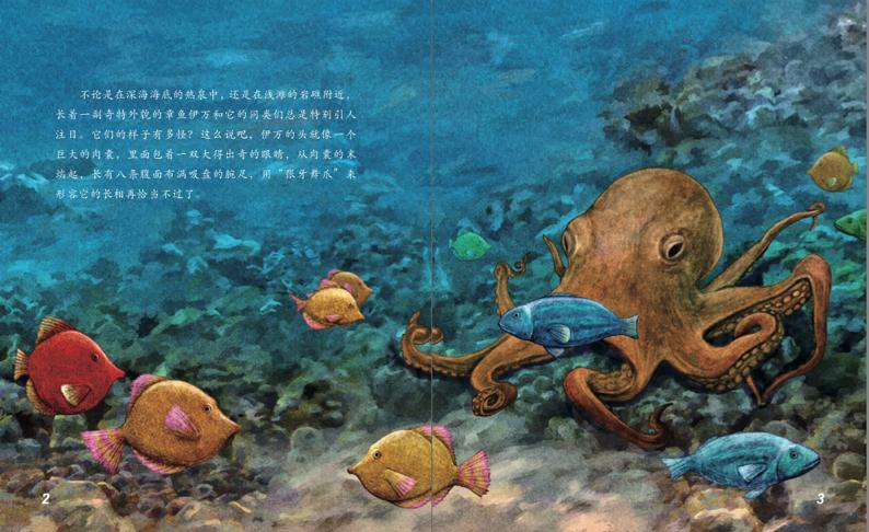 丛书铃声探秘章鱼海洋章鱼和蓝环故事恐龙丹佛动物图片