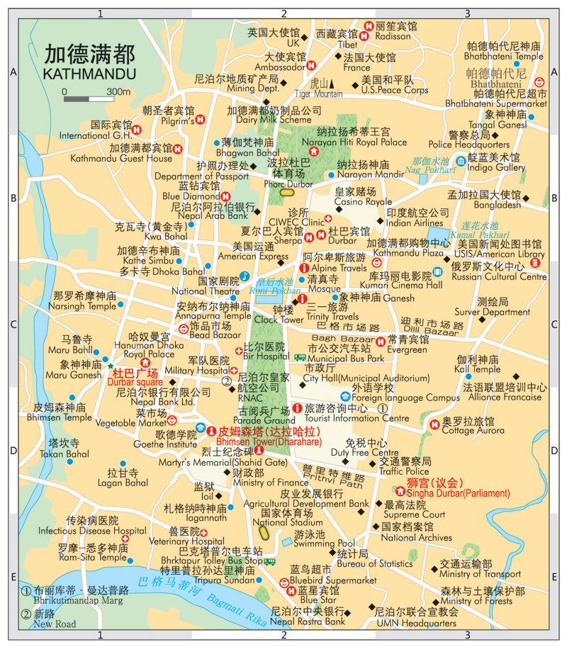《世界分国地图 孟加拉国