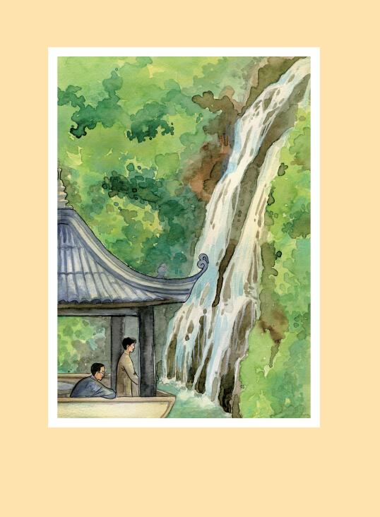 《背影(手绘插画本)》朱自清