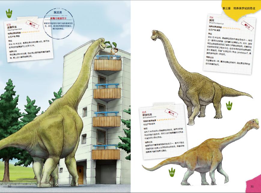 如何画恐龙手缝布艺恐龙