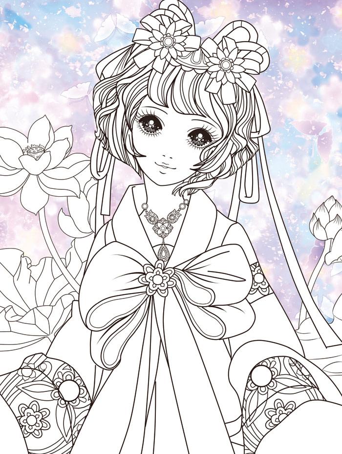求漫画古代公主的图片人物最好看似温柔实际无情(但是图片