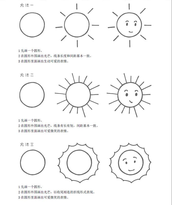简笔画构图简单