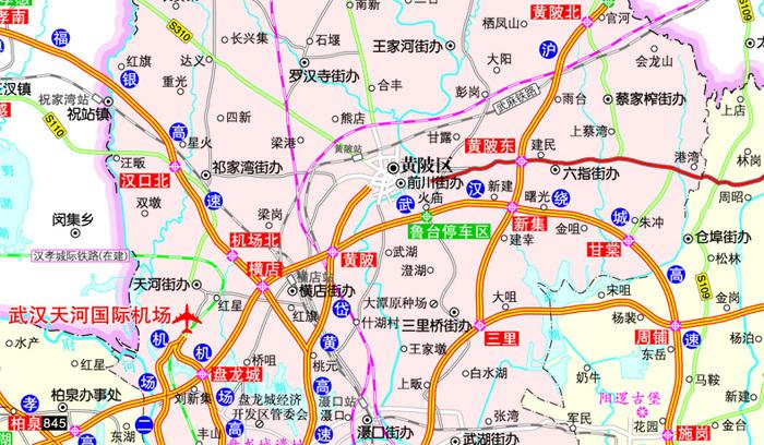 湖北省交通地图高清版_湖北省高清地图全图