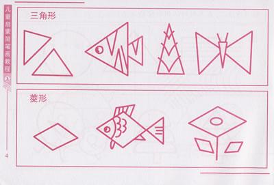 儿童启蒙简笔画教程 上