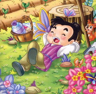 陪伴中国经典成长的:漫画成语故事(赠vcd)交通安全四格宝宝图片