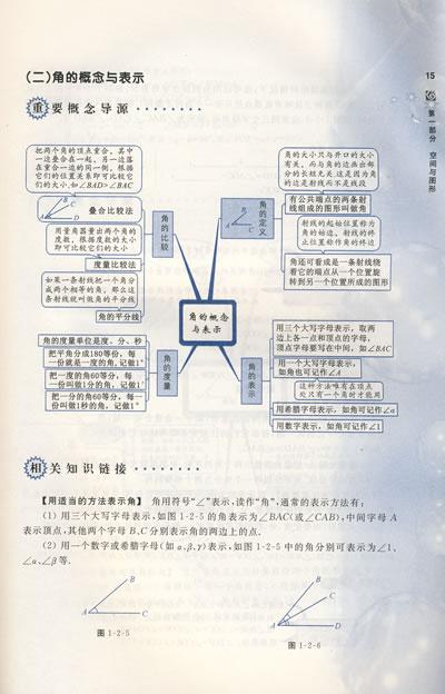 初中数学概念地图/中学概念地图丛书