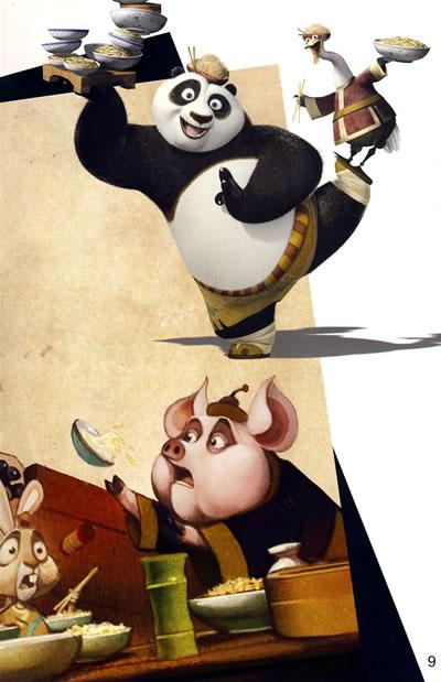 功夫熊猫(经典故事书)