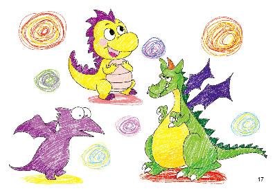 小学生四年级铅笔画小动物