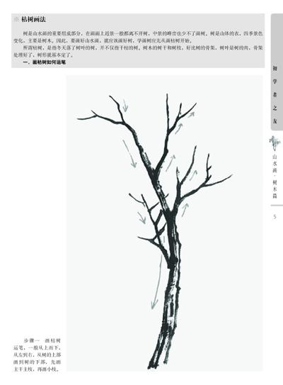 初学者之友—山水画 树木篇