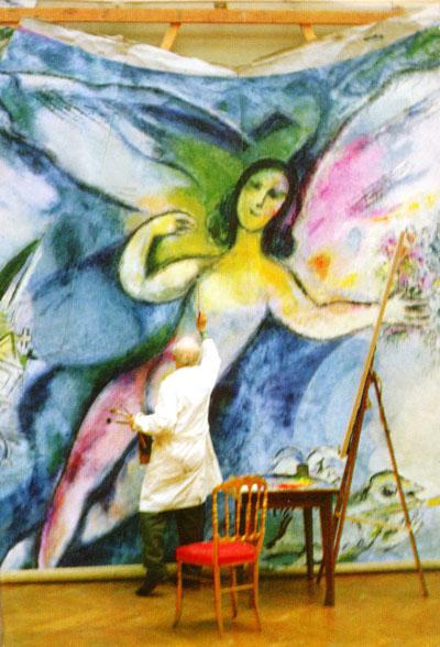 夏加尔--醉心梦幻意象的画家图片