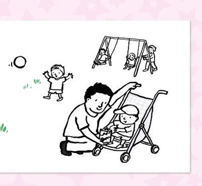 幼儿简笔画爸爸步骤