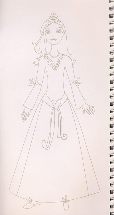 美少女时尚设计-梦幻公主/20396016