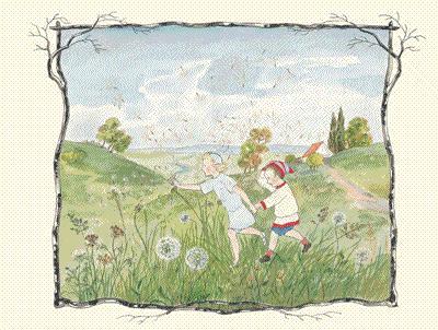 幼儿园保护森林绘画